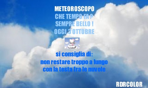 meteoroscopo, ottobre, che tempo fa,